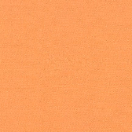 Kona Cotton Solid, Cantaloupe