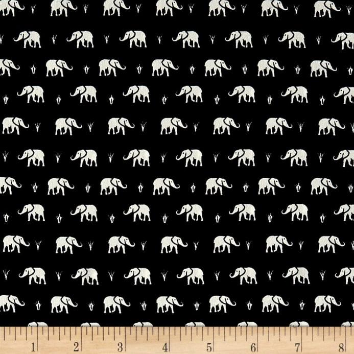 Telio - Colorado Poly Faille - Elephant (Black/White )
