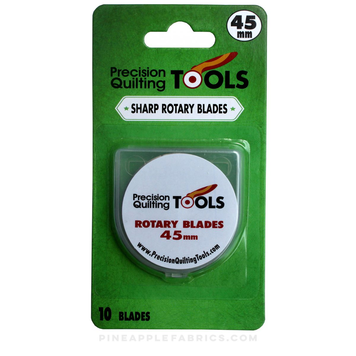 Precision Quilting Tools - Sharp Rotary Blades 45mm (10pk)