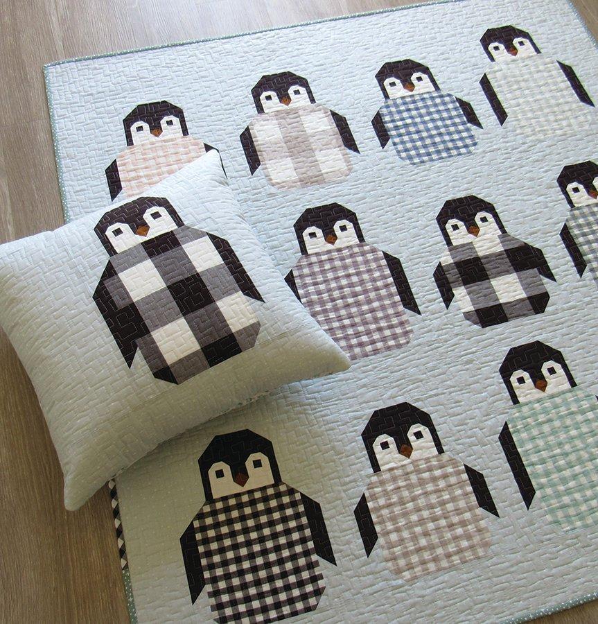 Pattern - Elizabeth Hartman - Penguin Party