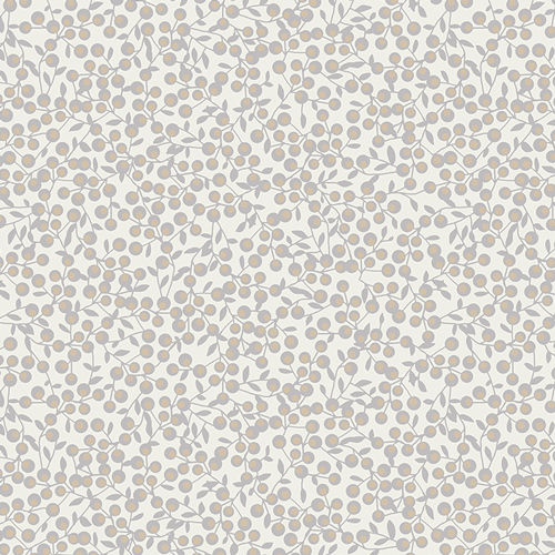 Art Gallery Fabrics - Blithe - Winterberries Snow