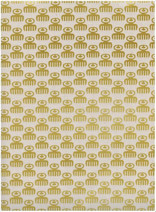 Cotton + Steel - Akoma - Duafe (Gold Metallic)