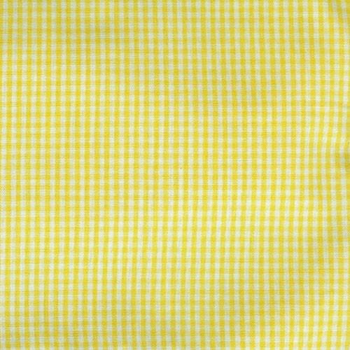 Spechler Vogel - Mini Gingham Check - Gold