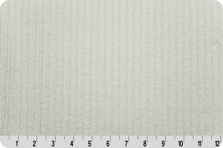 Shannon Fabrics - Luxe Cuddle - Chenille Natural