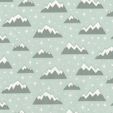 Elizabeth Hartman - Arctic - Mountains (Desert Green)