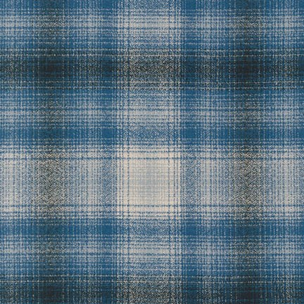 Robert Kaufman - Mammoth Flannel - Blue