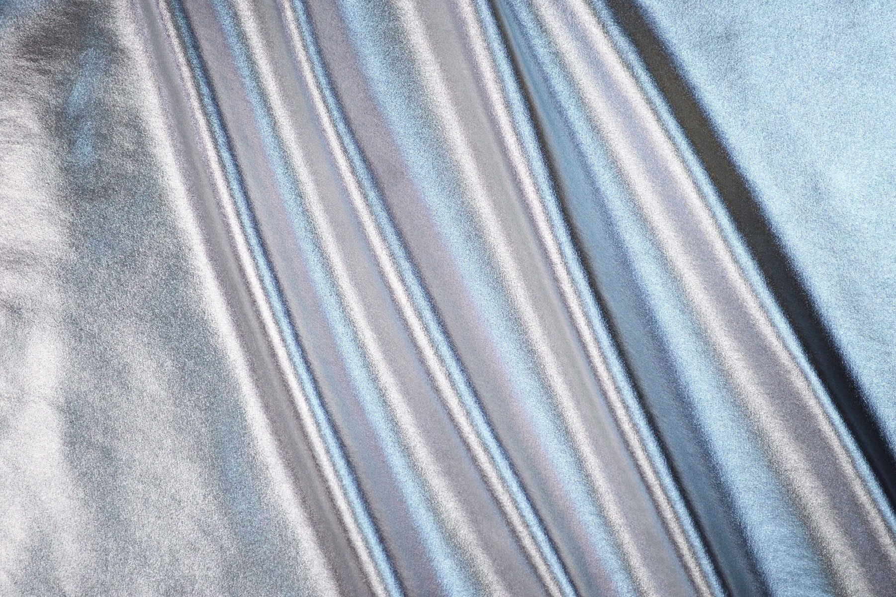Stretch Metallic Spandex Silver