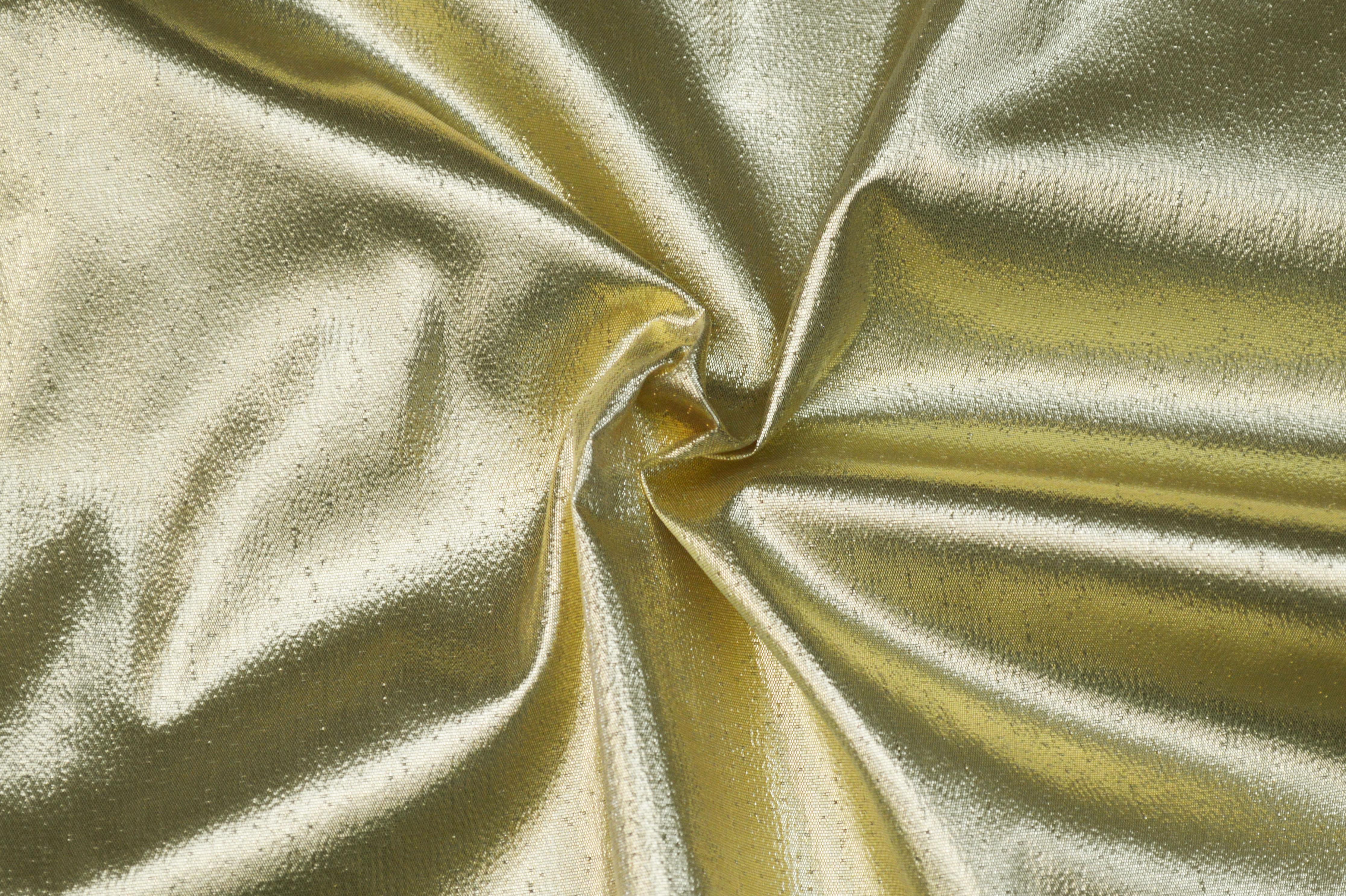 Poly Metallic Lame Gold