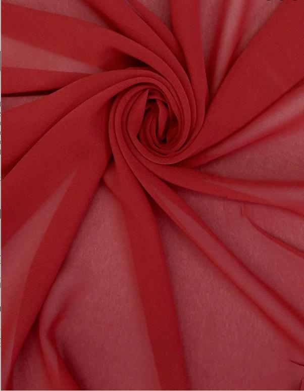 Ralph Lauren - Chiffon - Red
