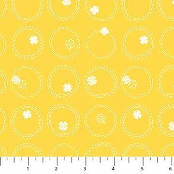 Figo - Lucky Charms - 4 Leaf Clover (Yellow)