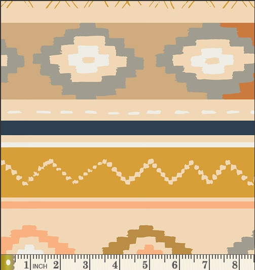 Art Gallery Fabrics - Canvas - Bound (Gold)