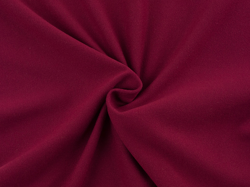 Fabric Merchants - Double Brushed Poly Spandex Jersey Knit - Wine