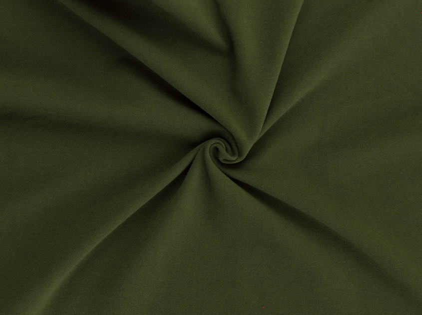 Fabric Merchants - Double Brushed Poly Spandex Jersey Knit - Olive