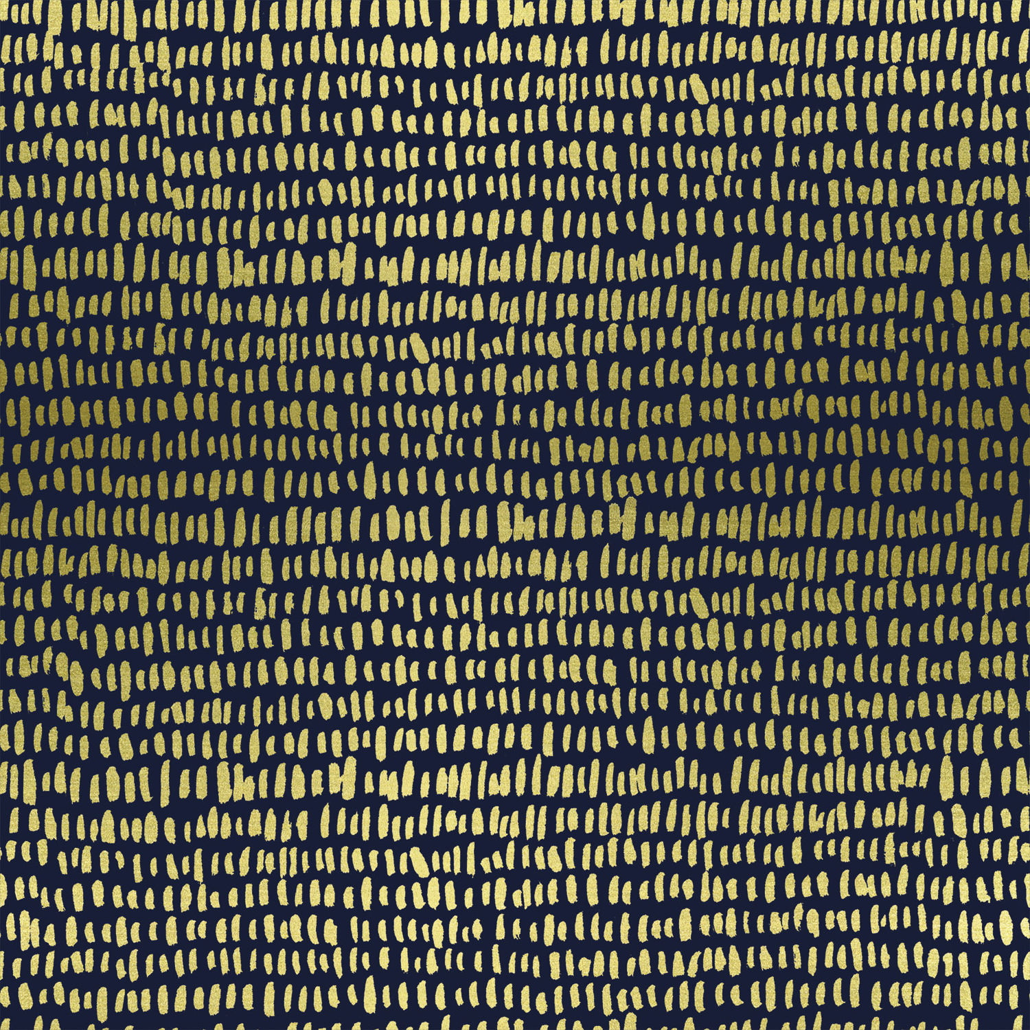 Cotton + Steel - Wildwood - LAWN - Hatchmarks (Navy / Metallic)