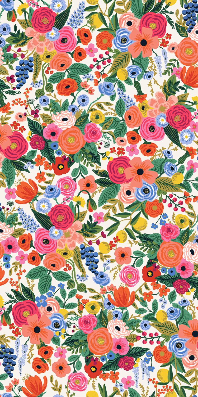 Cotton + Steel - Wildwood - RAYON - Petite Garden Party (Pink)