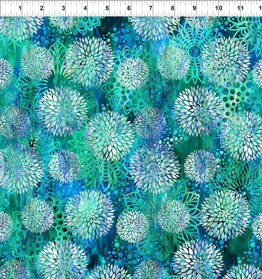In the Beginning, Floragraphix V - Chrysanthemum Blue