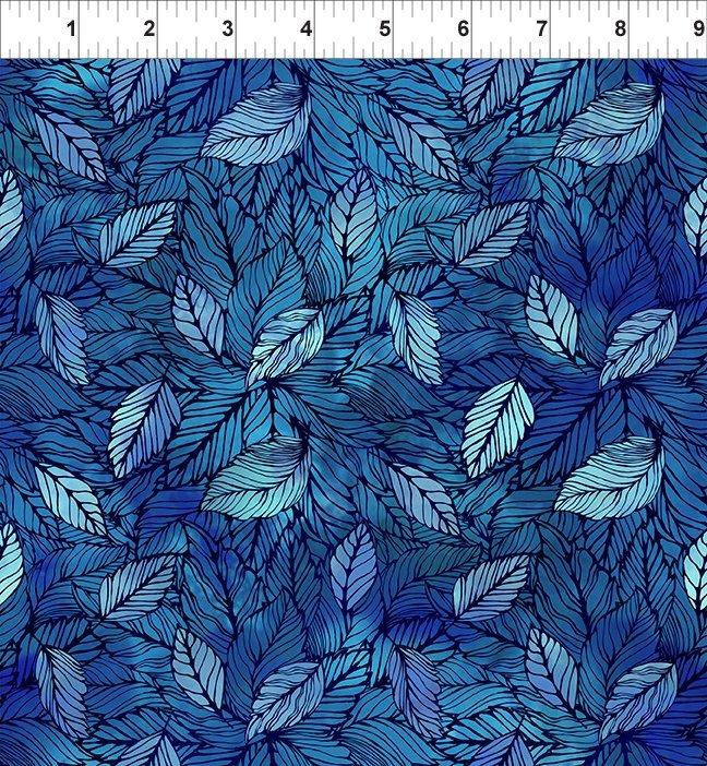 In The Beginning, 4 Season, Leaves In Blue