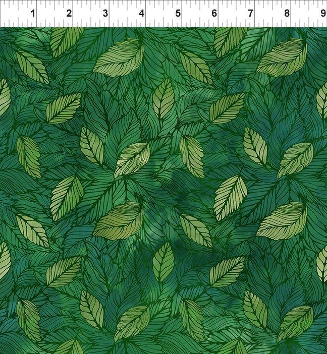 In The Beginning, 4 Season, Leaves In Green