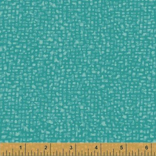 Windham Fabrics, Bedrock Tonal Turquoise