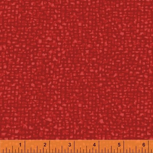 Windham Fabrics, Bedrock Tonal True Red