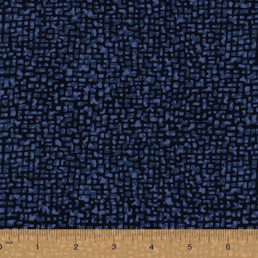 Windham Fabrics, Bedrock Tonal Navy 108 WIDE