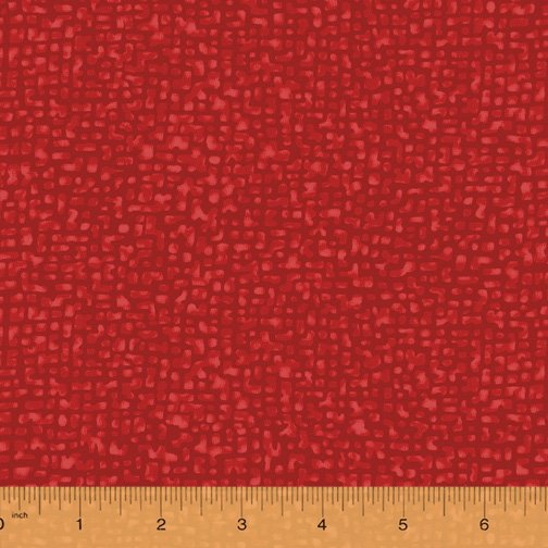 Windham Fabrics, Bedrock Tonal True Red 108 WIDE