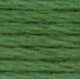 DMC Pearl Cotton Skein Size 5 367 Dark Pistachio Green