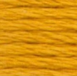 DMC Pearl Cotton Skein Size 5 783 Medium Topaz