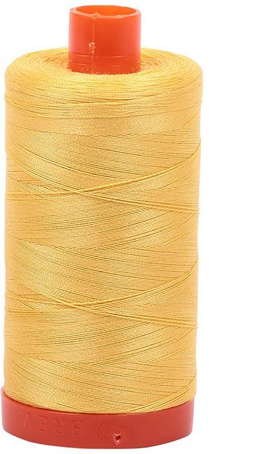 Aurifil - 50WT Cotton Thread -  SUNFLWR