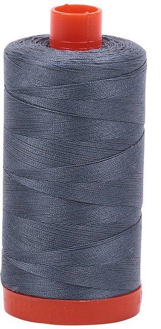 Aurifil - 50WT Cotton Thread -  GREY BLU