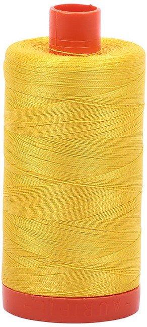 Aurifil - 50WT Cotton Thread -  BRT YLW