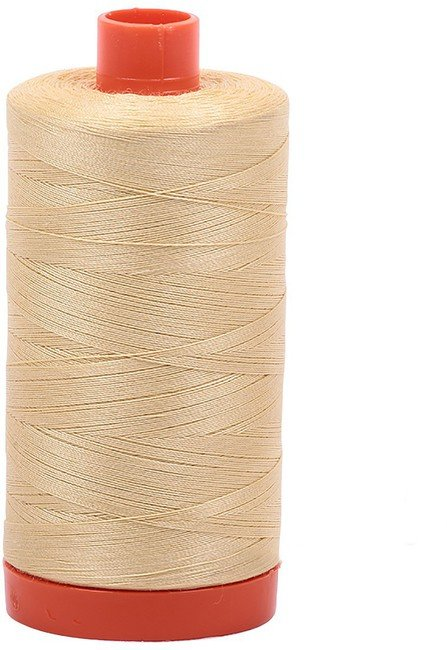 Aurifil - 50WT Cotton Thread -  YELLOW