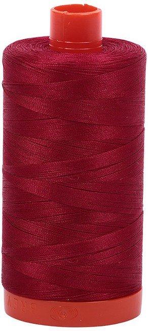 Aurifil - 50WT Cotton Thread -  Barn red