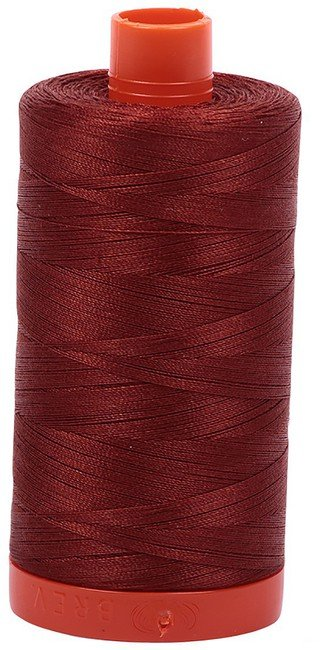 Aurifil - 50WT Cotton Thread -  TERRACOT