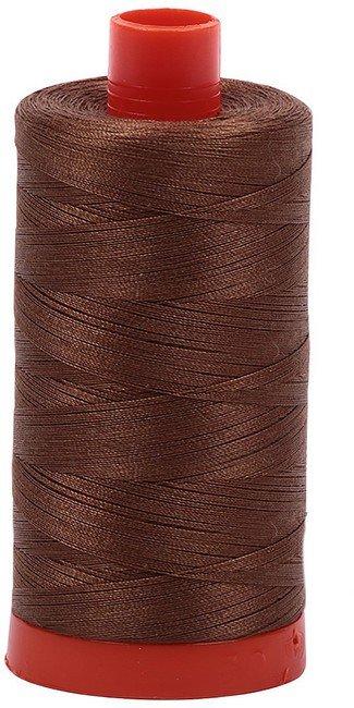Aurifil - 50WT Cotton Thread -  GLDN BRN