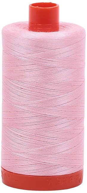 Aurifil - 50WT Cotton Thread -  BABY PNK