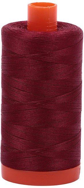 Aurifil - 50WT Cotton Thread -  DK REDWR