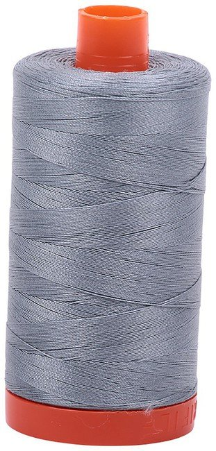 Aurifil - 50WT Cotton Thread -  SLV GREY