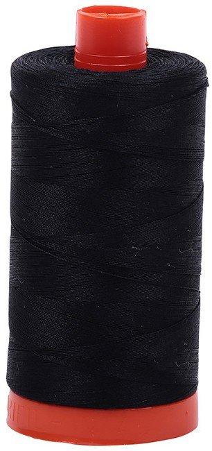 Aurifil - 50WT Cotton Thread -  BLACK