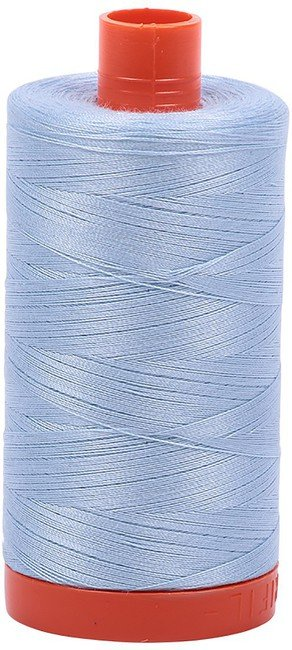 Aurifil - 50WT Cotton Thread -  LT BLUE