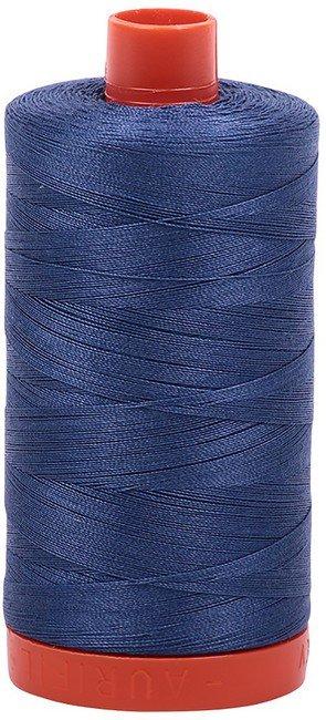 Aurifil - 50WT Cotton Thread -  STEEL BL