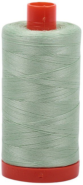 Aurifil - 50WT Cotton Thread -  LT GRN