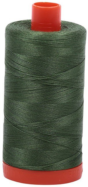 Aurifil - 50WT Cotton Thread -  MED GRN