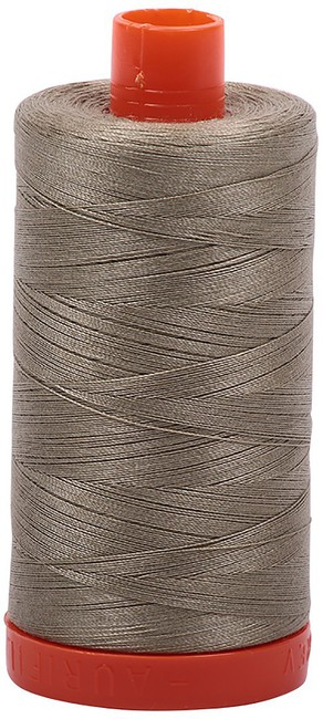 Aurifil - 50WT Cotton Thread -  LT KHAKI