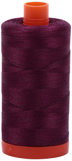 Aurifil - 50WT Cotton Thread -  PLUM