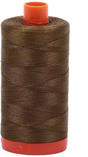 Aurifil - 50WT Cotton Thread -  DK OLIVE
