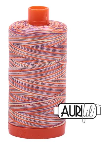 Aurifil - 50WT Cotton Thread -  Varigated FIESTA
