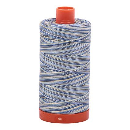 Aurifil - 50WT Cotton Thread -  Varigated lemonberry