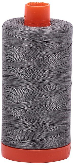 Aurifil - 50WT Cotton Thread -  RAIL GRY
