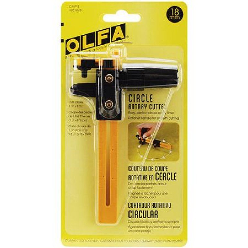 Olfa - CMP-3 Circle Cutter Rotary18mm 8 1/2